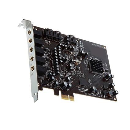 Yeshai3369 PCIe Tarjeta de Sonido, 5.1 Tarjeta de Sonido ...