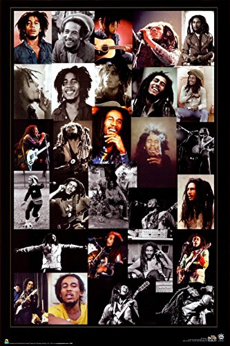 Scorpio Bob Marley Collage Wall Poster (Collage Wall Poster)