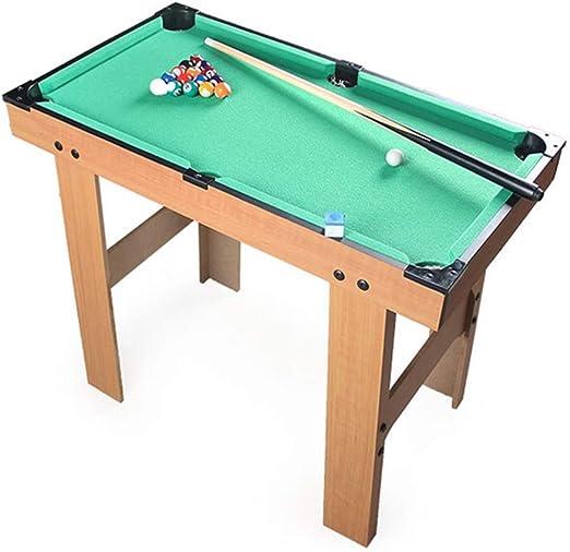 Juego de Billar Mesa de billar de escritorio en miniatura mesa de billar fijado for adultos