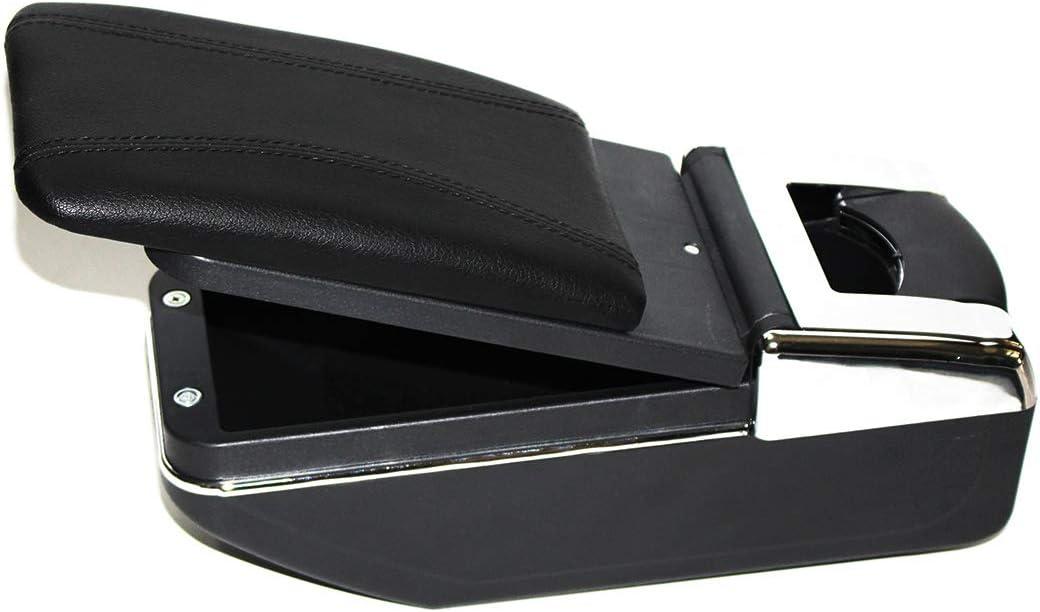f/ür Focus 2 Mk2 2005-2011 Armlehne Mittelkonsole Aufbewahrungsbox Mit Aschenbecher und Getr/änkehalter