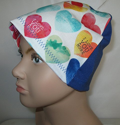 Kids I Love You More Chemo Hat Alopecia Head Cover Cancer Scarf