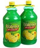 ReaLemon 100% Lemon Juice - 2/48 oz. Bottles by ReaLemon