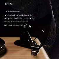 SMLCTY Bluetooth Audio Vinilo LP Tocadiscos, se Puede conectar a ...