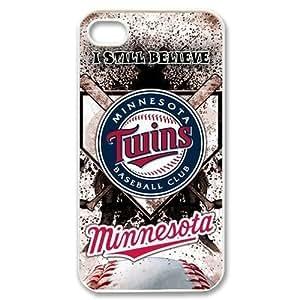 Custom Your Own MLB Minnesota Twins iPhone 4/4S Case , personalised Minnesota Twins Iphone 4 Cover