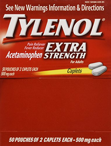 tylenol packages - 1