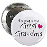 """CafePress I'm going to be a Great Grandma! Button 2.25"""" Button"""