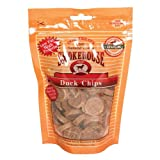 SMOKEHOUSE 785083 Duck Chips Natural Chews for Dogs, 4-Ounce Pouch, My Pet Supplies