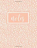 Notes: Peach Polka Dots Notebook, Journal & Diary