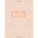 Notes: A Notebook, Journal & Diary (Gold Feathers & Gold Abstract Patterns)