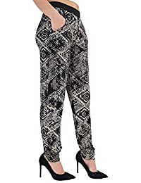 Chocolate Pickle Womens Plus Size Tie Dye Print Ali Baba Harem Pants Trousers