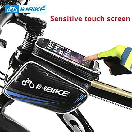 Unisex Mountain Bike Handlebar Waterproof  Bag Bike Riding Touch Bag Bicycle