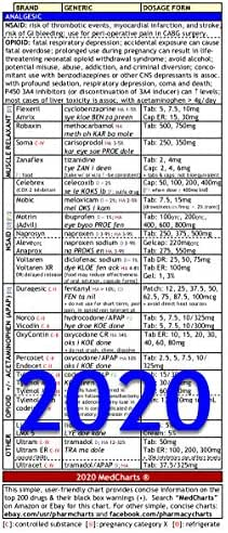 Medcharts - Top 200 Drugs Review (Laminated)