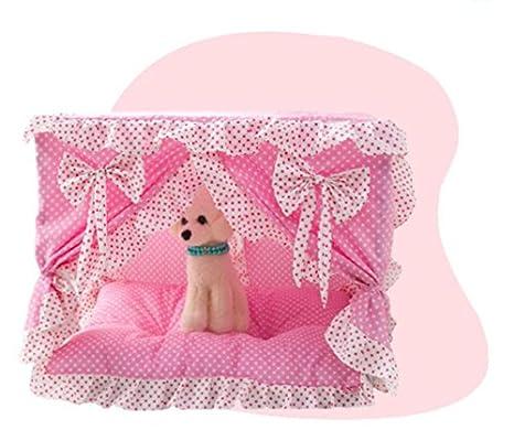 Animales Dots fresco cama Juego colchón cama cama perro, gato mascotas Princesa Encaje m rosa: Amazon.es: Hogar