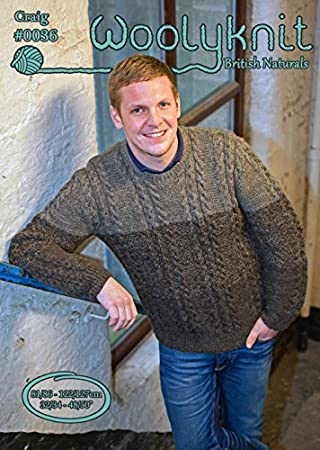 0a52d9337dba7 0036 - Craig - Knitting Pattern by Woolyknit