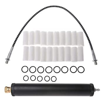 /Öl-Wasserpumpe Luftfilter 40 Mpa ZREAL Hochdruck-Pumpe 300 Bar