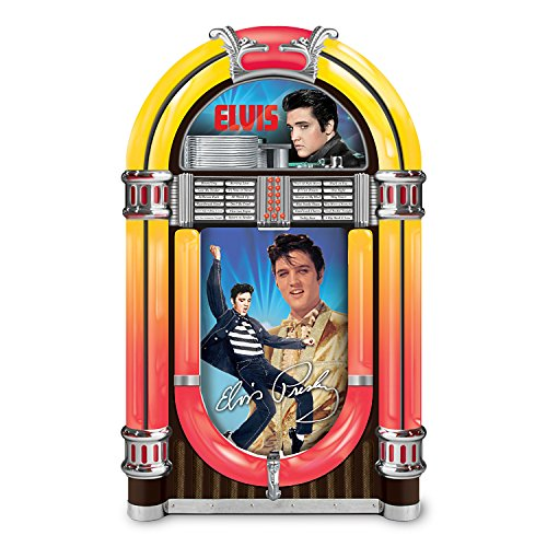 (Elvis Presley '68 Comeback Special Jukebox Music Box Lights Up: Plays Hound Dog by The Bradford)