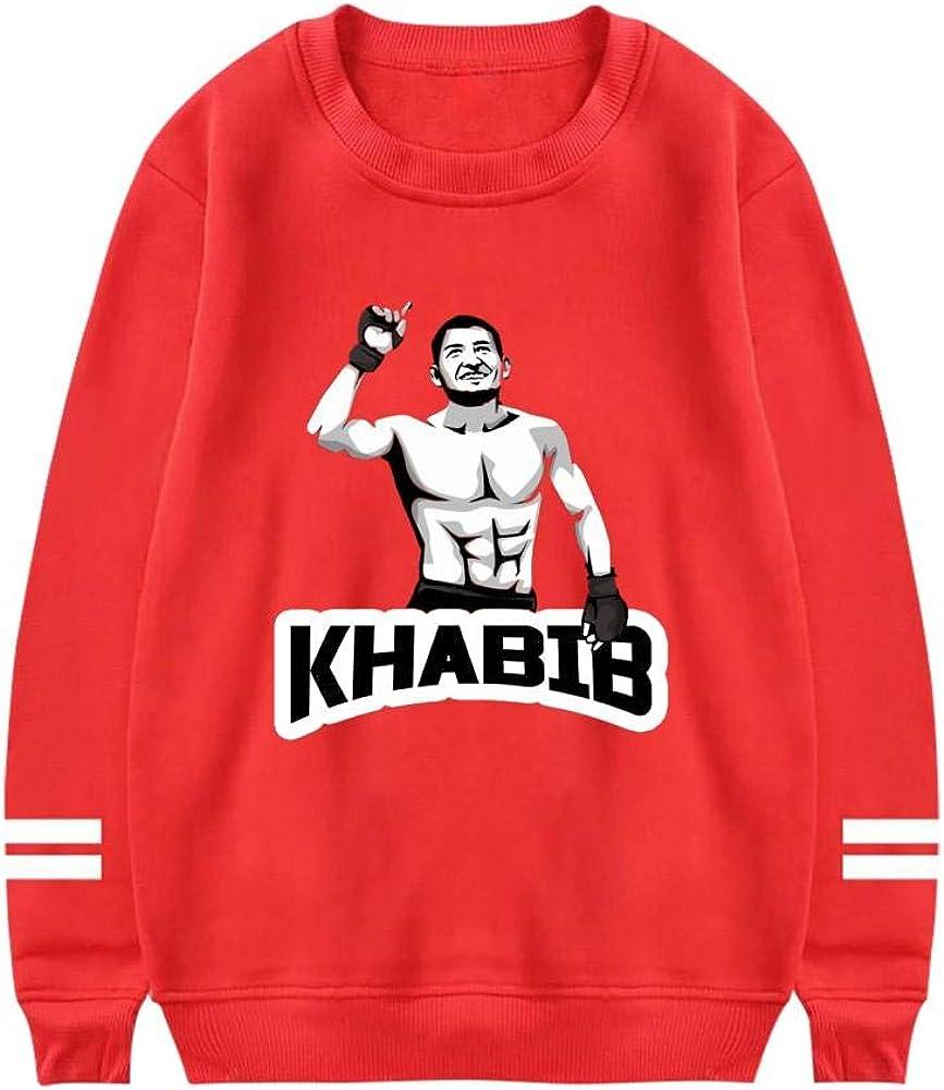 SwcyFun Womens Crewneck Sweatshirt K-Ha-Bib Long Sleeve Warm Cotton Hoodie