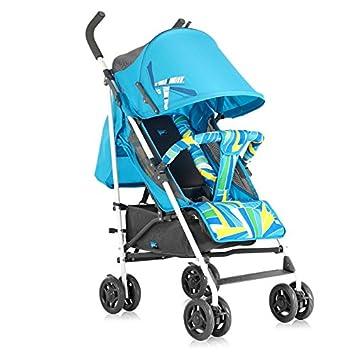 2016 venta caliente ligero bebé carrito, plegable y portátil, para cochecito de bebé Niños paraguas de paseo, carro, niños transporte azul azul