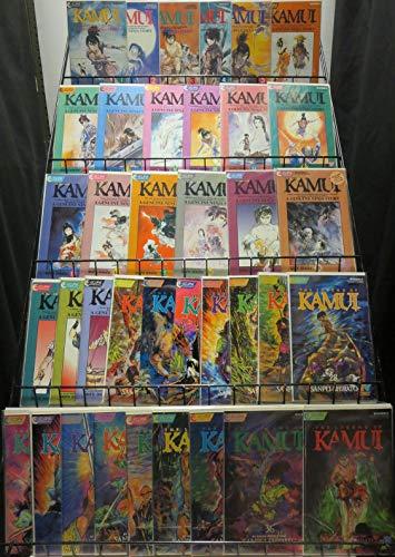 KAMUI 1-37 Complete Series By SANPEI SHIRATO