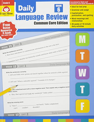 Daily Language Review, Grade 6 (Evan Moor Daily Language Review)