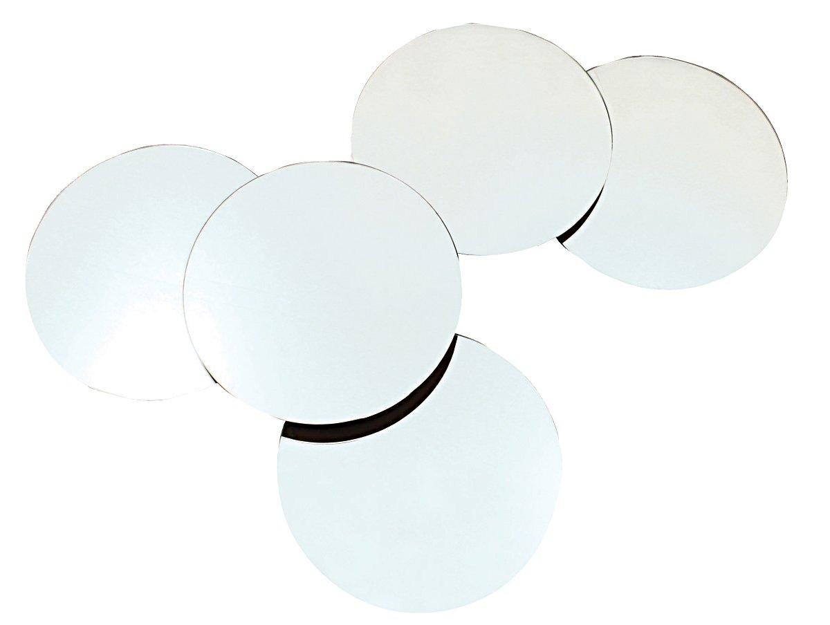 nexxt Solei Multi Level, 10 Inch mirrors, Collage Mirror, Set of 5 Nexxt Design FN17208-3