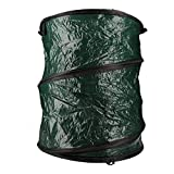 AB Tools-Toolzone Collapsible Garden Rubbish Waste Storage Bag Bin Sack Pop Up Weeds Leaves