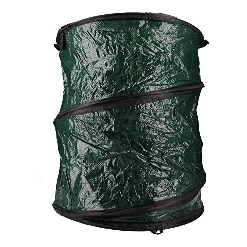 AB Tools-Toolzone Collapsible Garden Rubbish Waste Storage Bag Bin Sack Pop Up Weeds Leaves by AB Tools-Toolzone