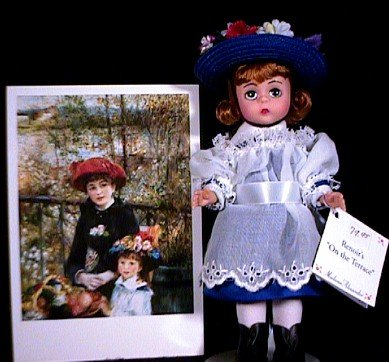 (Madame Alexander Doll; Renoir's On The Terrace - 12530)