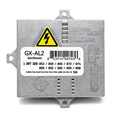 Replacement Xenon HID Ballast for BMW, Mercedes, Audi, Land Rover Headlight Control Unit Module Replaces 307 329 074, 63127176068, 307 329 090, others - Warranty: Automotive
