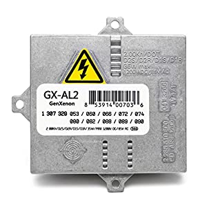 Replacement Xenon HID Ballast for BMW, Mercedes, Audi, Land Rover Headlight Control Unit Module Replaces 307 329 074, 63127176068, 307 329 090, others - 6 Year Warranty
