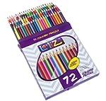 LolliZ� 72 Colored Pencils Set, with...