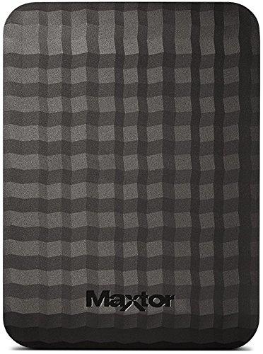 Maxtor STSHX-M401TCBM – Disco Duro Externo de 4 TB (2.5″, USB 3.0/3.1 Gen 1), Color Negro