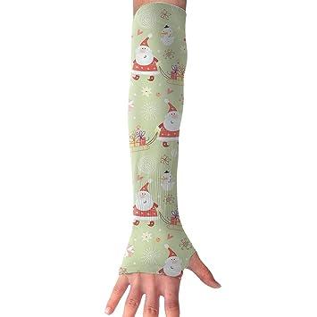 e2a2b6515 RZM YLY Unisex Christmas Ugly Arm Sleeves UV Sun Protective Fashion Tattoo  Arm Gloves Long Sleeve