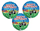 Gamers Happy Birthday ''You've Leveled Up!'' Mylar Balloons (3 Pack)