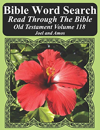 Bible Word Search Read Through the Bible Old Testament Volume 118: Joel and Amos Extra Large Print