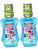 My Little Pony firefly melon Blast flavor fluoride rinse (Pack of 2)