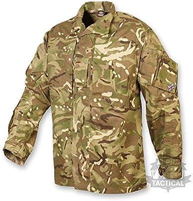 Ejército británico estilo PBX camisa MTP/ Multicam Talla:170/88: Amazon.es: Deportes y aire libre