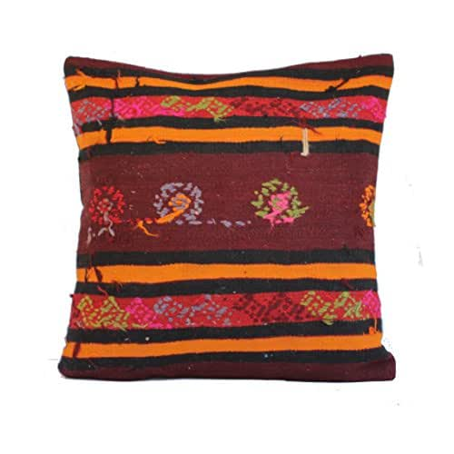 Moroccan Floor Pillows: Amazon.com: 20x20 Kilim Pillow Southwest Pillow Turkish