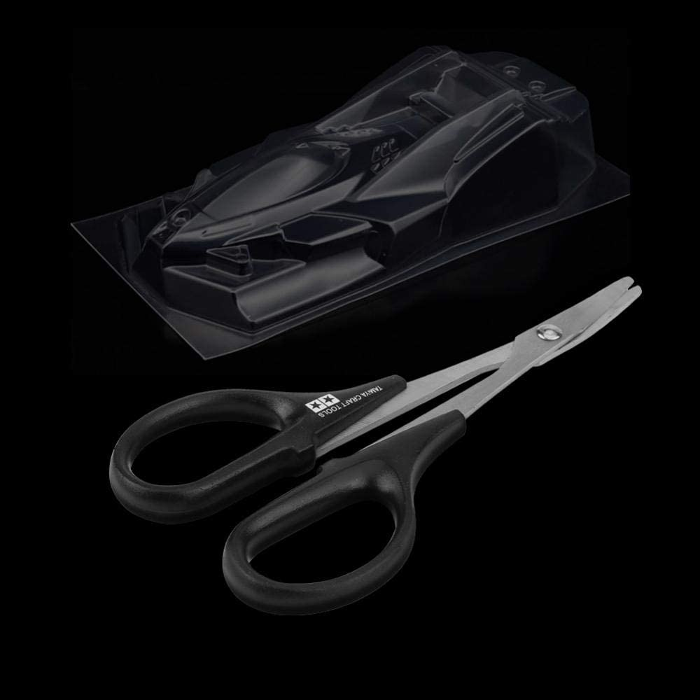GOTOTOP Curved Scissor RC Car Body Plastic Shell Curved Scissor Model Craft Tool for Racing Drift Truck Vehicle Buggy Car Bodyshell