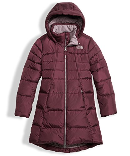 The North Face Big Girls' Elisa Down Parka (Sizes 7-18) - Zinfandel Red, s by The North Face