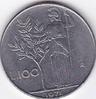 Italy - Italian 100 Lire Coin (Italy 100 Lire Coin)