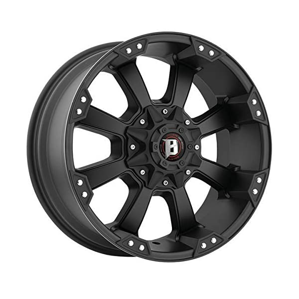 Ballistic-Morax-845790051-12FB-845-Wheel-17×9-5×135-5×55-5×1397-12mm-Offset-Flat-Black