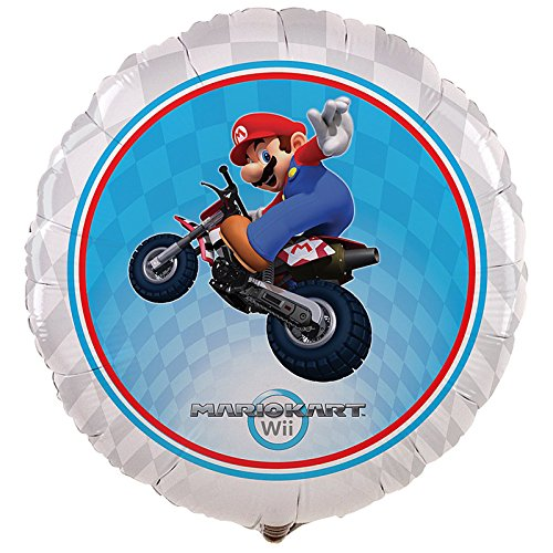 (Cti Industries Corporation Mario Kart Wii Foil Balloon)