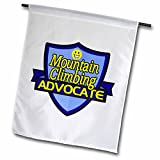 Dooni Designs – Funny Sarcastic Advocate Designs - Mountain Climbing Advocate Support Design - 18 x 27 inch Garden Flag (fl_242722_2) offers