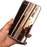 For IPhone 7 Plus,Lucoo Front/Back Tempered Glass Film Protector for iphone 7plus 5.5Inch (Rose Gold)