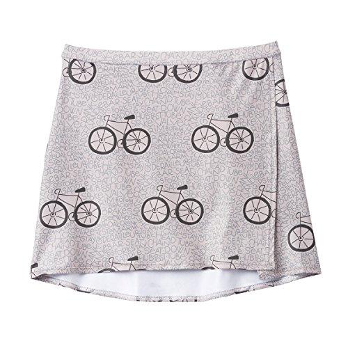 観光に行く等価不安定なテリーレディースMixieスカート