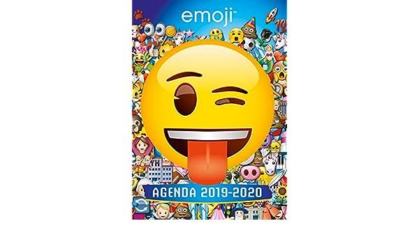 Emoji - Agenda 2019-2020: Amazon.es: Hachette Jeunesse ...