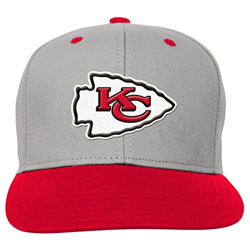NFL Kansas City Chiefs Toddler Boys Flatbrim Snapback Hat, Red, One Size by NFL by Outerstuff