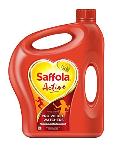 Saffola Active Blended Vegetable Oil 5 Liter by Saffola