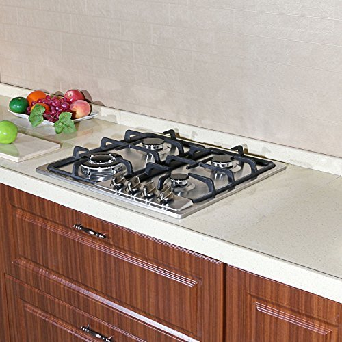 30 4 burner gas stove top - 3